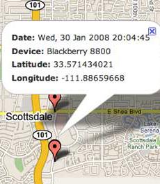 Cara tips Melacak Blackberry Yang Hilang