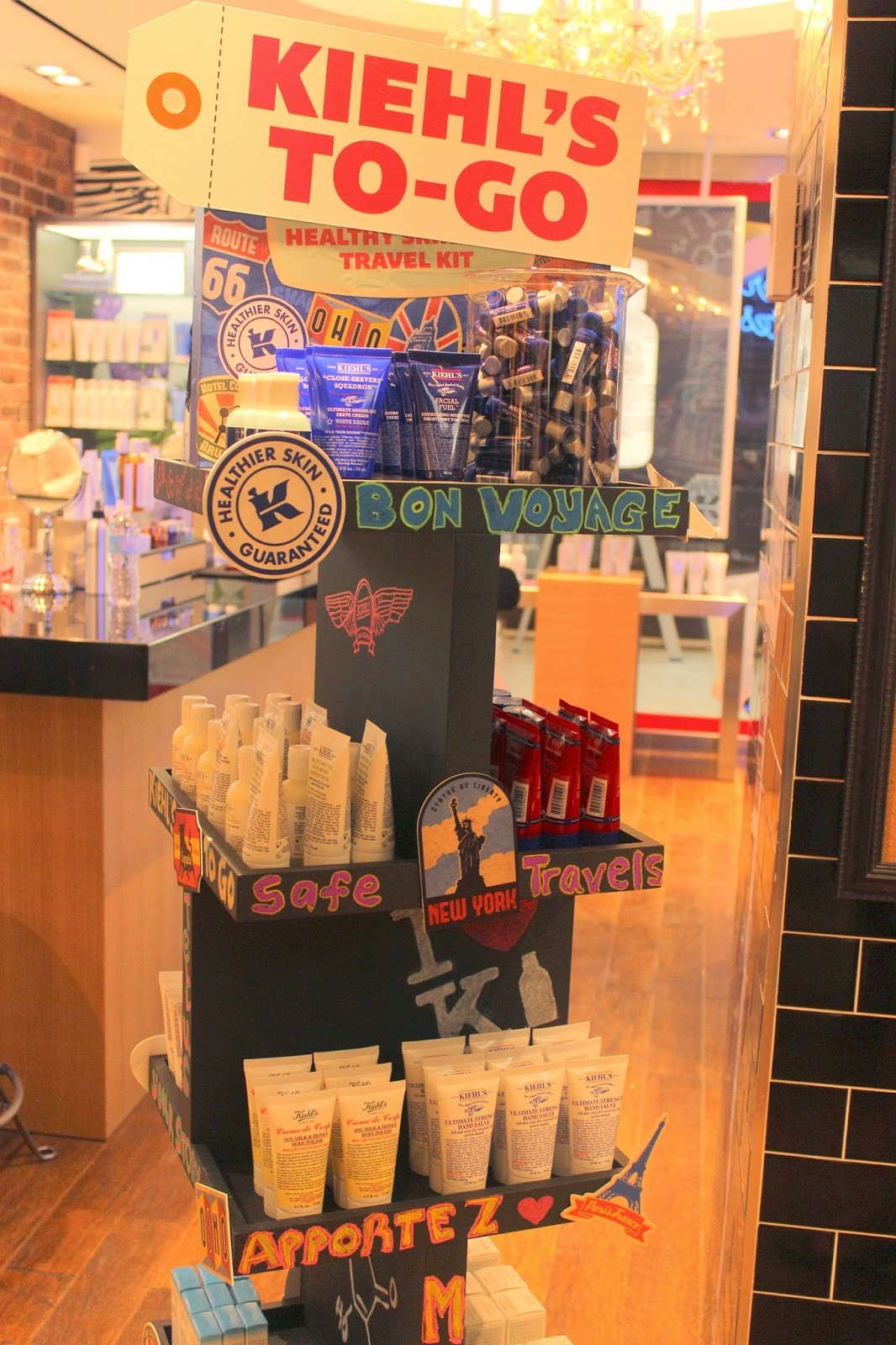 Kiehl's Travel Section