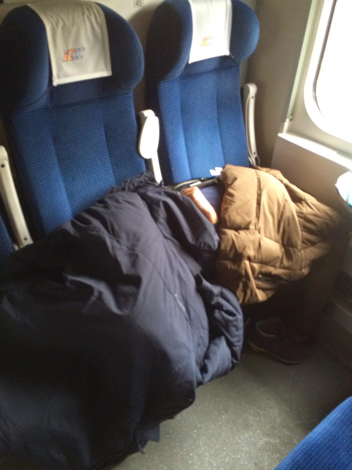 опыт путешествий в европейских поездах