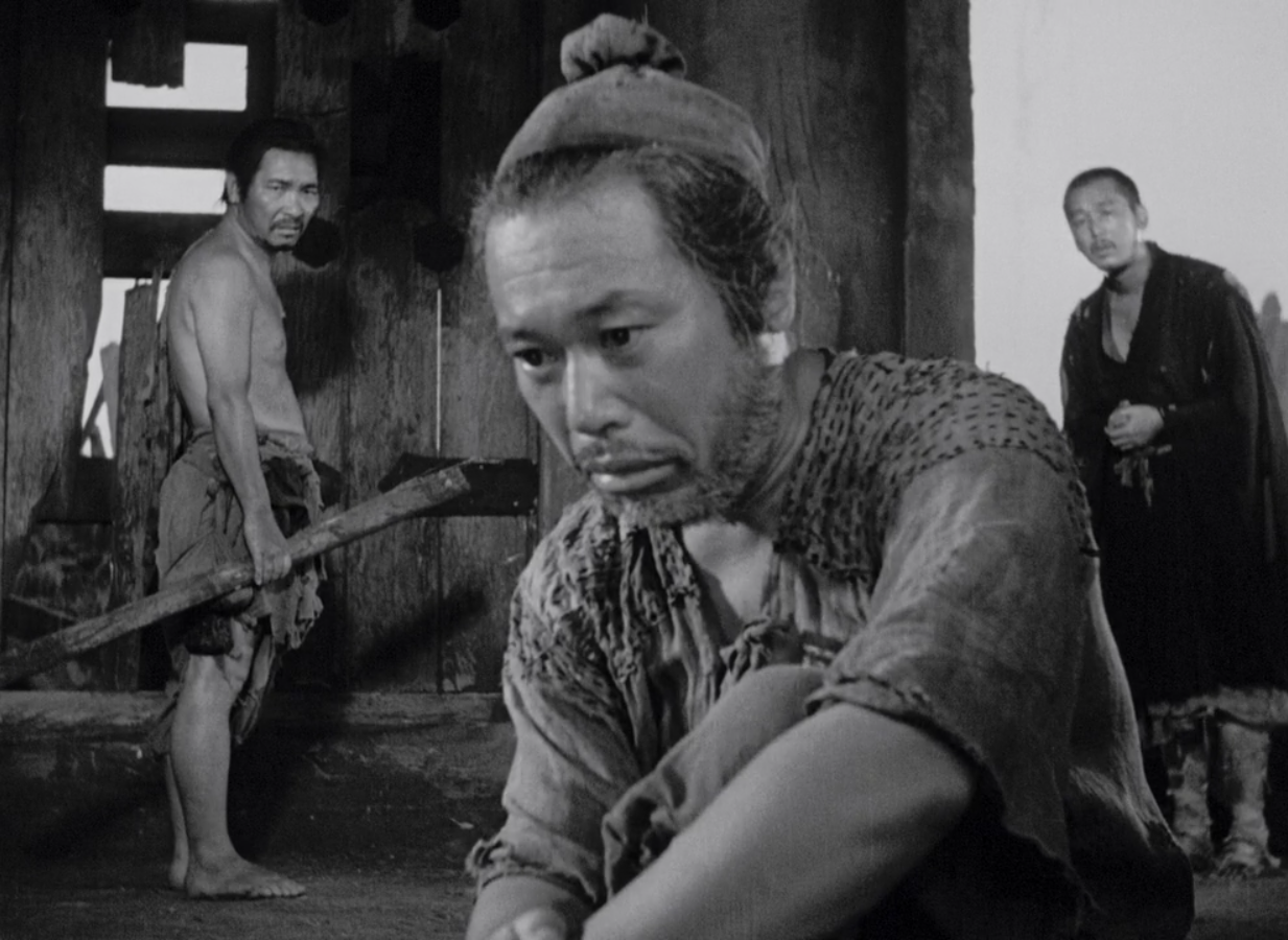 seven samurai thesis See a cinematic classic from a post-hegelian perspective danny o'donnell reviews kurosawa's seven samurai.