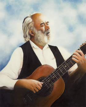Reb Shlomo Carlebach Painting