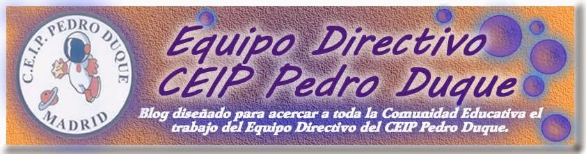 EQUIPO DIRECTIVO CEIP PEDRO DUQUE