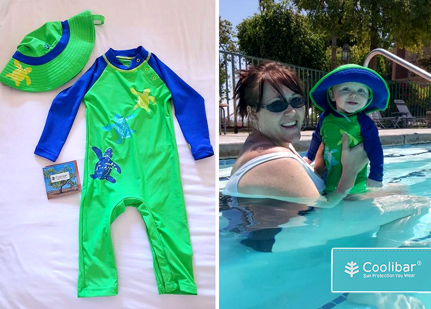 Coolibar clothing offers UPF 50+ protection without any suncreen underneath. SPF 100 would be equivalent to a UPF of just 9! For stylish sun protective clothing for the entire family check our Coolibar! #sponsored