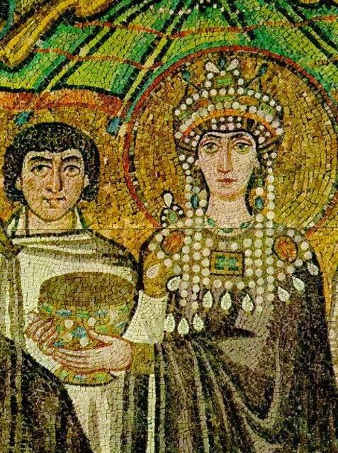 El cortejo de Teodora