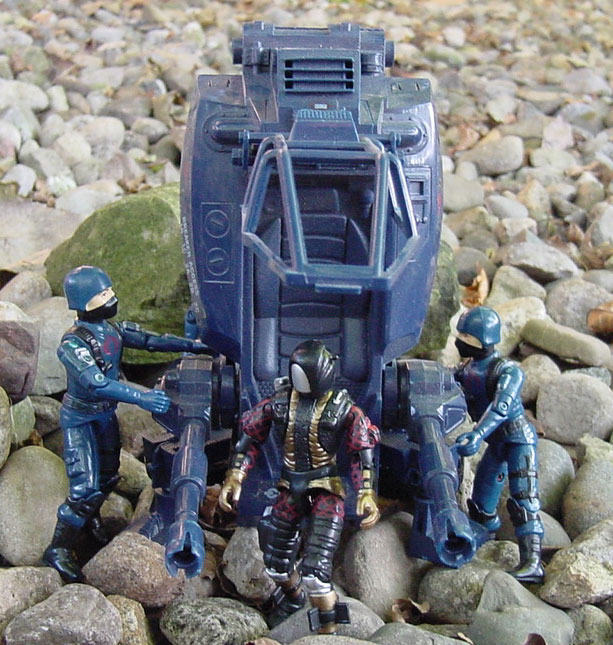 1984 ASP, Assault Systems Pod, 1983 Cobra Trooper, 2003 Python Patrol HEAT Viper, 1994 Razorblade