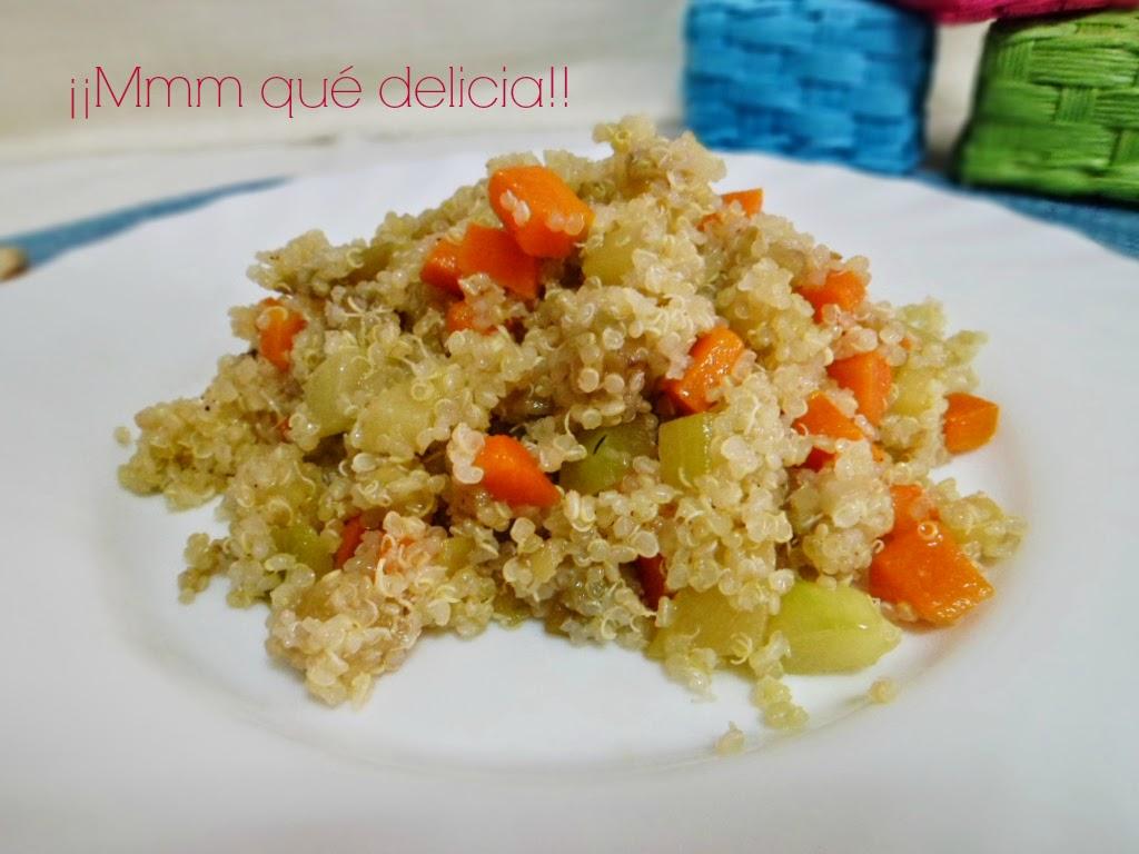 Mmm qu delicia quinoa con verduras - Cocinar quinoa con verduras ...