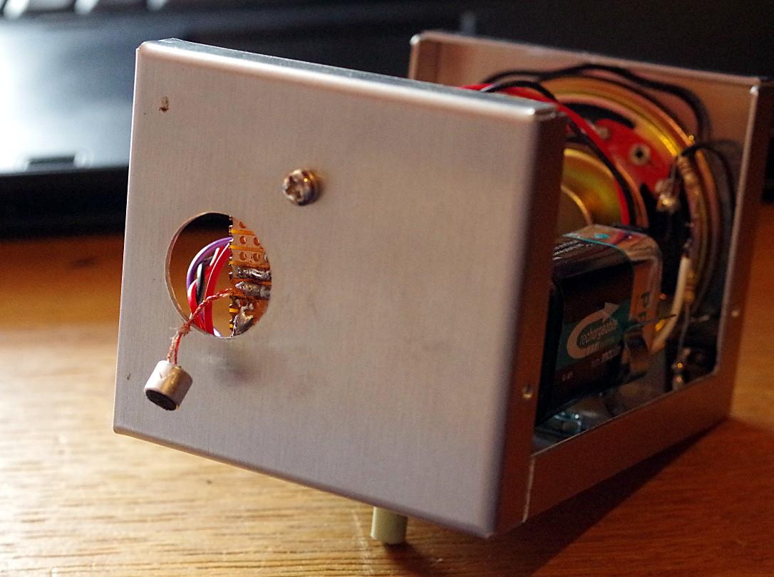 Captain Bodgit Bat Detector Overhaul Schematics To Make A Instability Problems Im Not Surprised