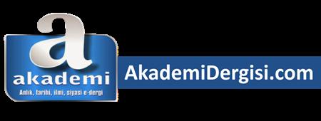 Akademi Dergisi  | Mehmet Fahri Sertkaya | #mfs