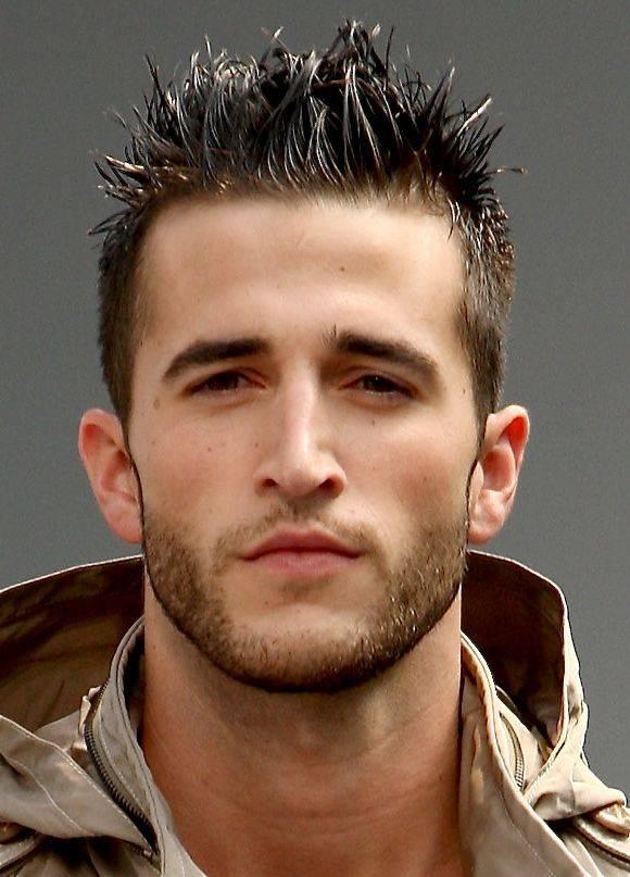 Short Hairstyles for Men Spike Hair