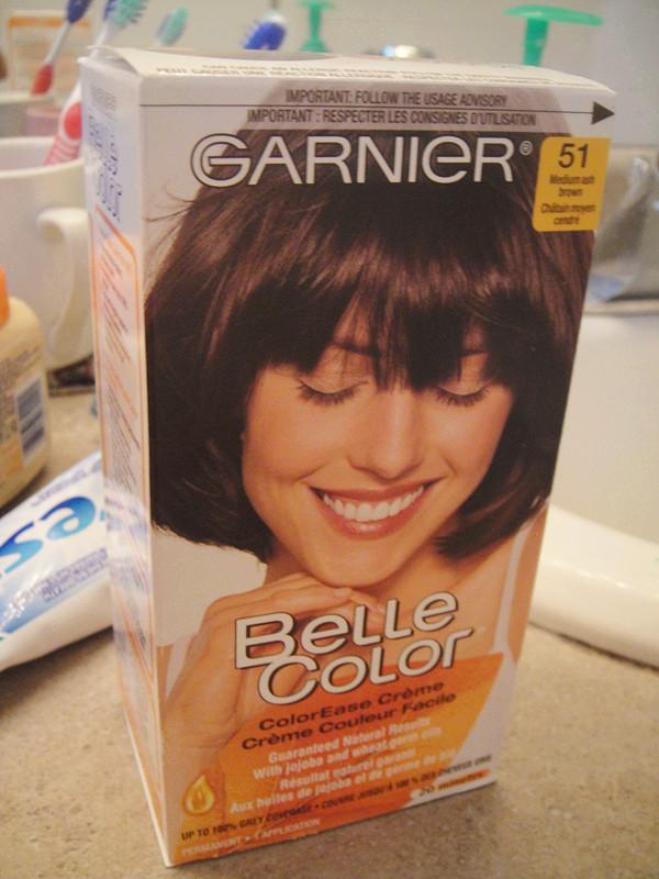 無聊的blog Blog Review Garnier Belle Color 51 Medium Ash Brown
