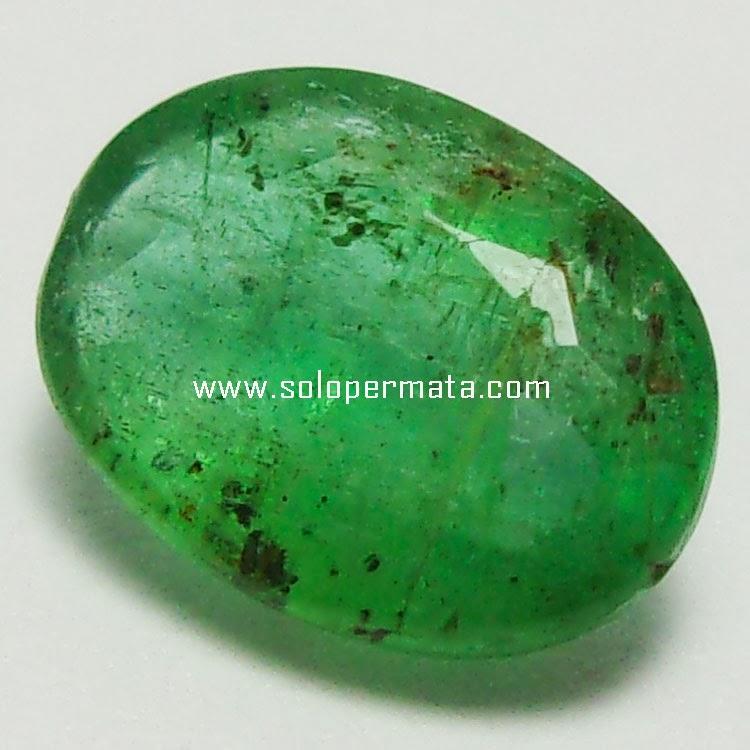 Batu Permata Zamrud Emerald Beryl - 27A04