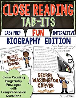 close reading for second grade
