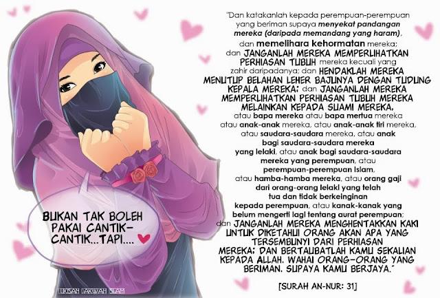 Gambar kata-kata Muslimah untuk motivasi