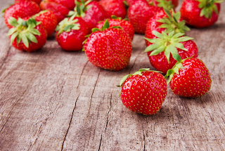 Strawberries were among the most contaminated.