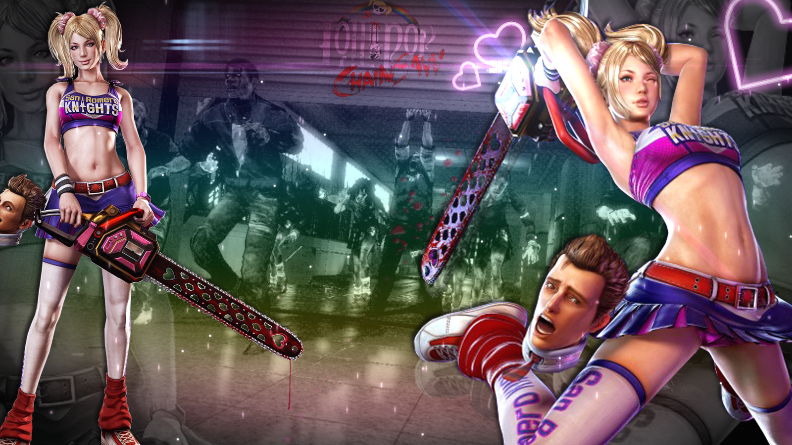 lollipop chainsaw wallpaper by zebratalent d474p5n Lollipop Chainsaw Wallpapers in HD   1080p