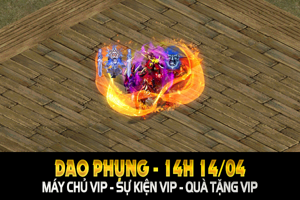 Chủ Nhật 14H 14/04 - KiemTheHoaPhung.com - Ra mắt máy chủ mới - Cày Cuốc FREE 24/24 1