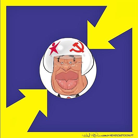 O capacete da geringonça