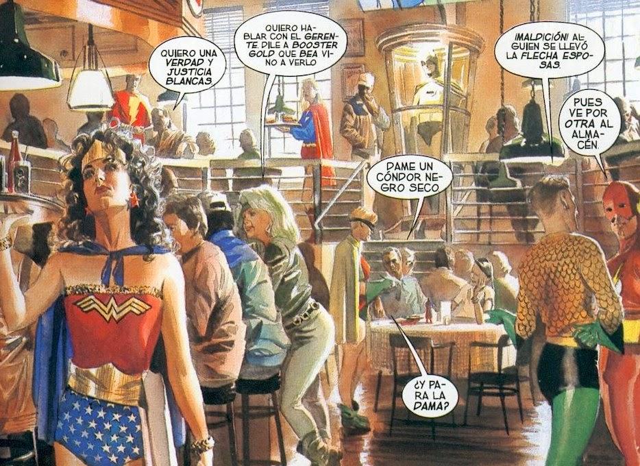 superheroes pluriempleados