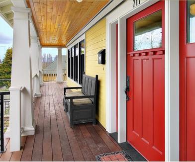 Fotos y dise os de puertas puertas para exterior de madera for Puerta de madera exterior usada