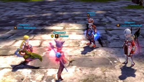 Dragon Nest Mentor system