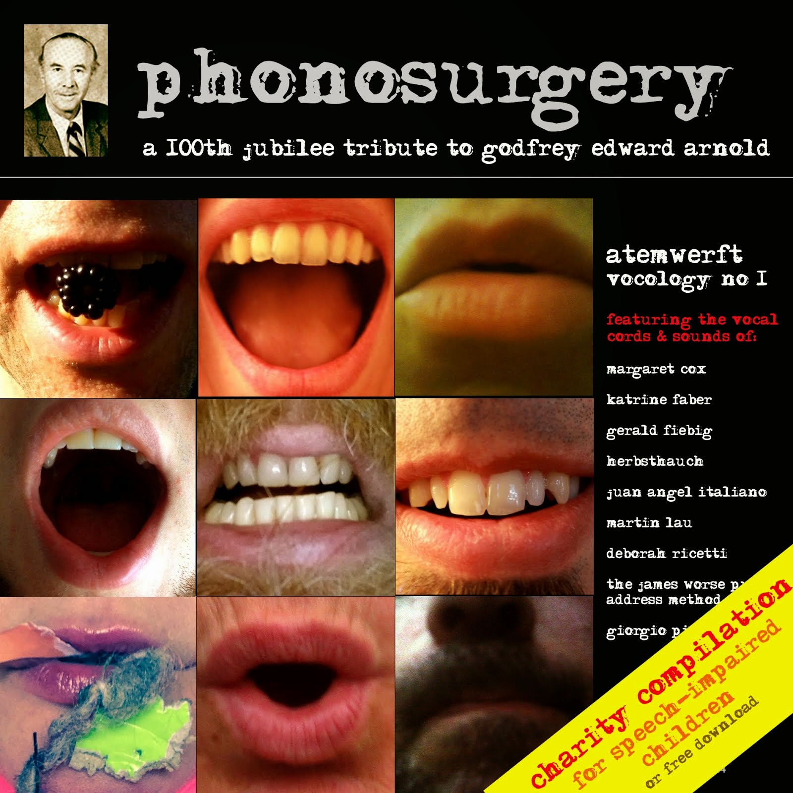 2014 - phonosurgery / tribute to Godfrey Edward Arnold