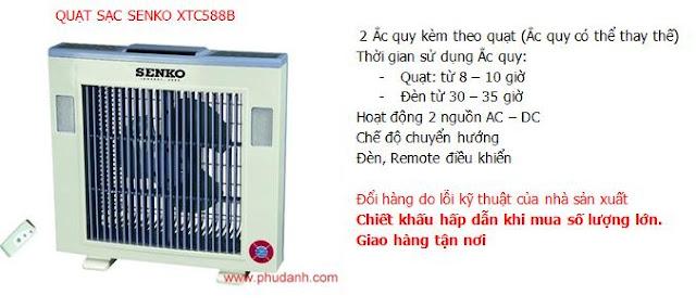 Quat sac senko XTC 558B