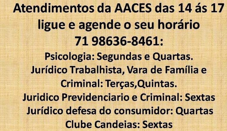 AGENDA DA AACES
