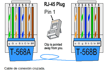 plug wiring diagram 568b with Muchas Cosas Son Importantes En Redes on D cat5 moreover How To Punch Down Cat5ecat6 Keystone as well Rj45 Ether  Cable Wiring Diagrams moreover Rj45 Connectors also Rj45 Connector Used In Ether  Connectivity.