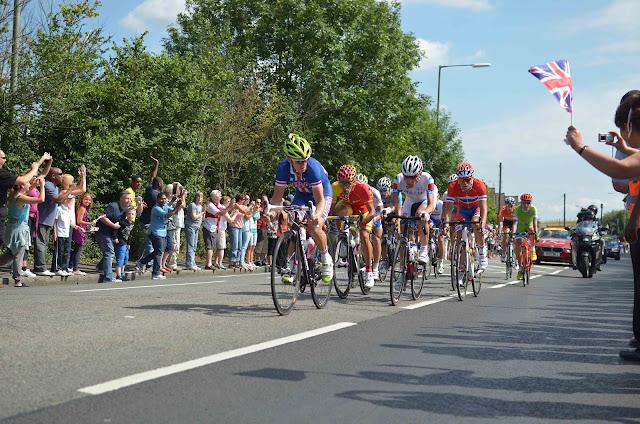 Bradley Wiggins Mark Cavenish Team GB Surrey Walton on Thames