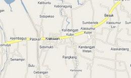 Peta Kota Kraksaan