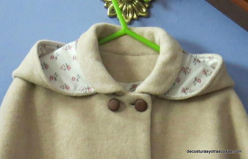 capa con capucha de quita y pon