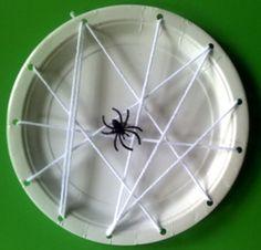 Afbeeldingsresultaat voor bordje met spin