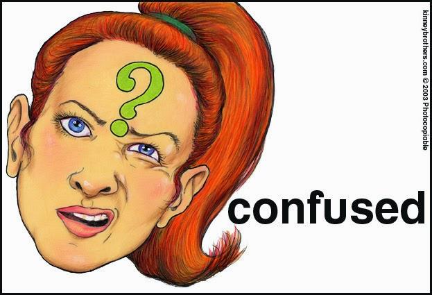 confuse, konfius