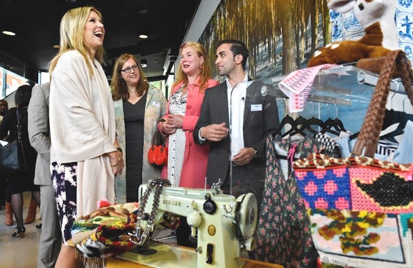 Queen Maxima Visited The Refugee Assistance Foundation
