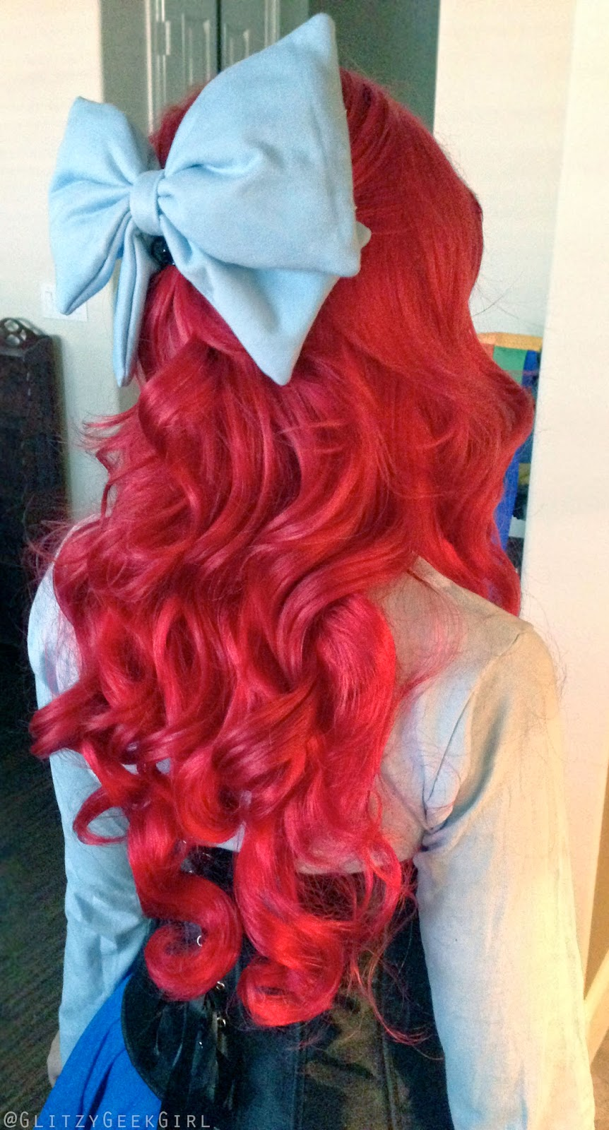 Omglitzy tutorial the little mermaid ariel cosplay baditri Image collections