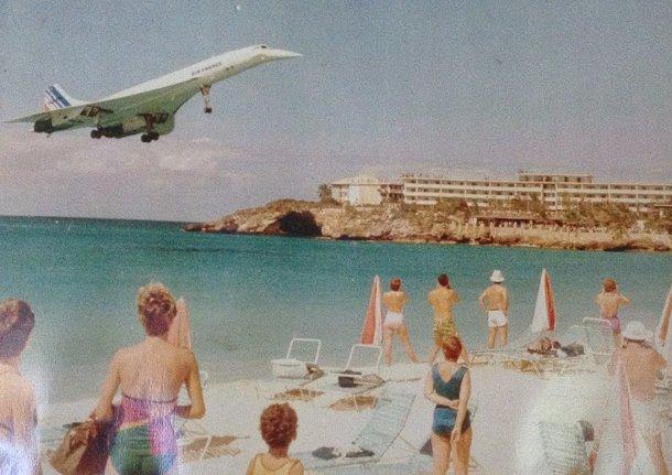 Concorde Air France St Maarten jjbjorkman.blogspot.com