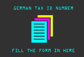 Taxpayer identification number deutsch