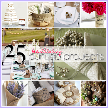 25 Burlap Projects