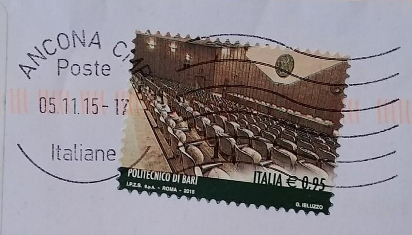 francobollo Politecnico di Bari