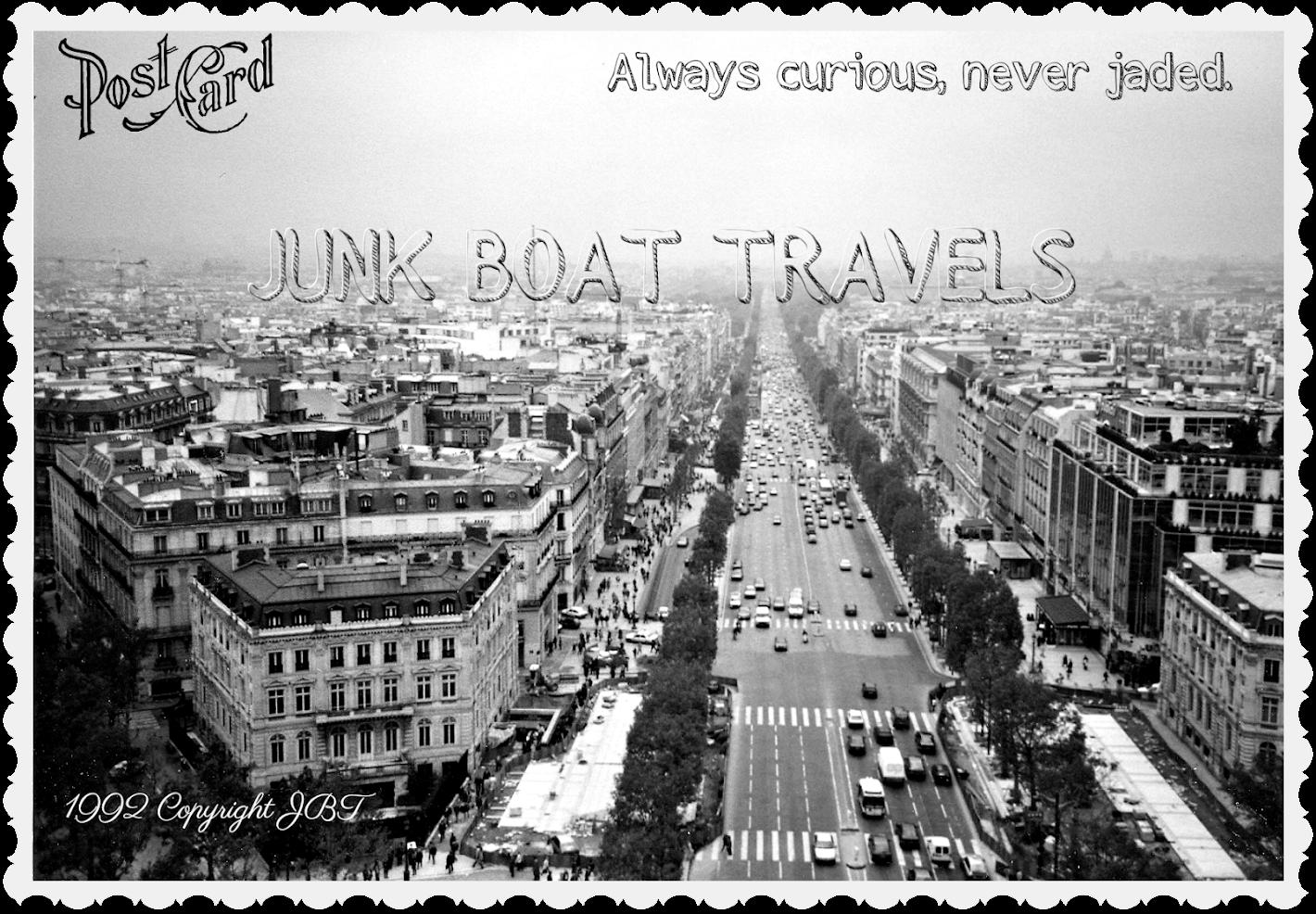 JUNK BOAT TRAVELS