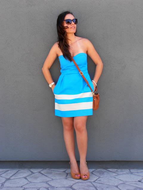 blue, graduation, dress, φόρεμα, ορκωμοσία