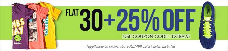 Myntra coupon code 30 off