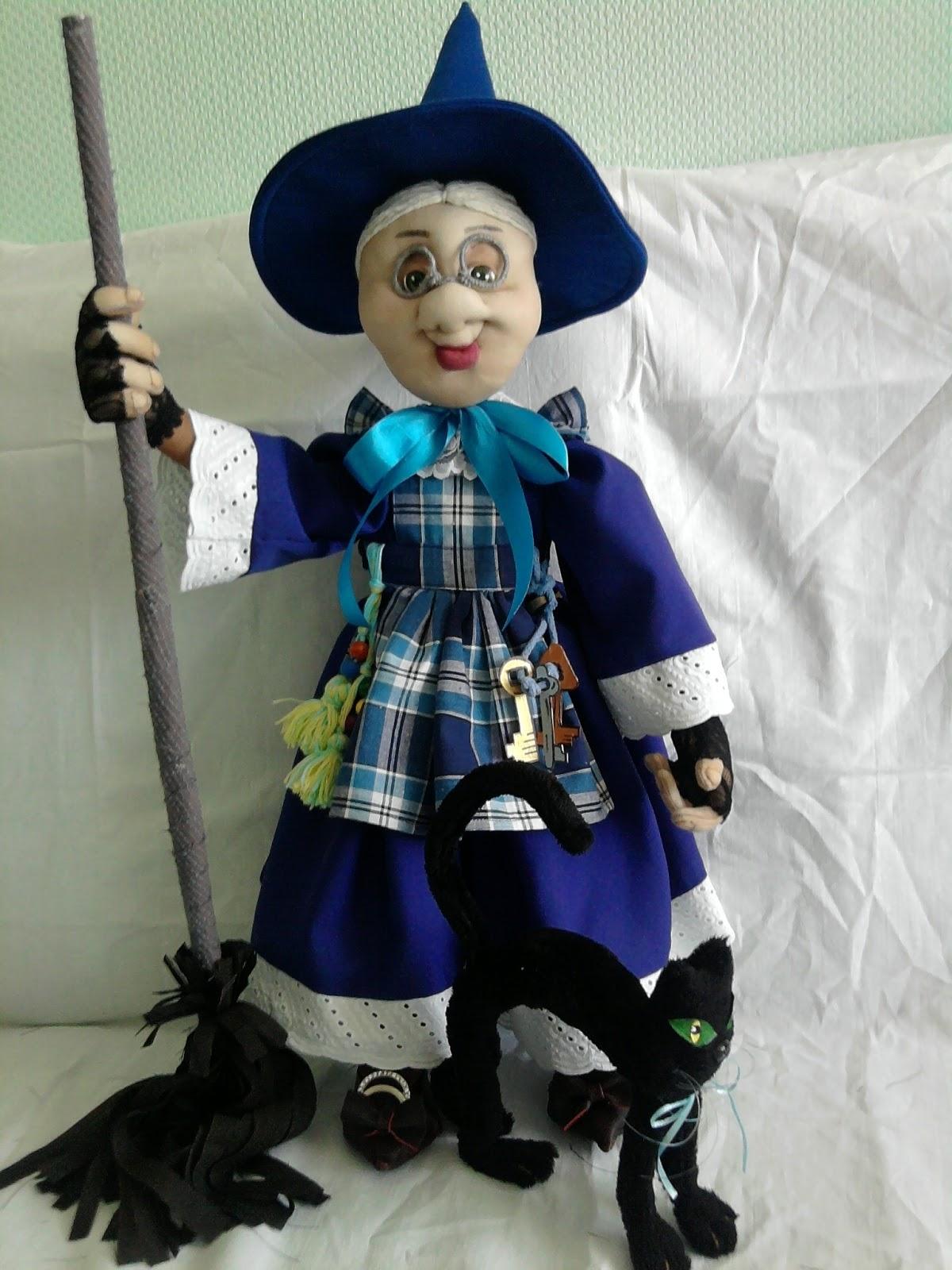 Как сделать куклу ведьму своими руками