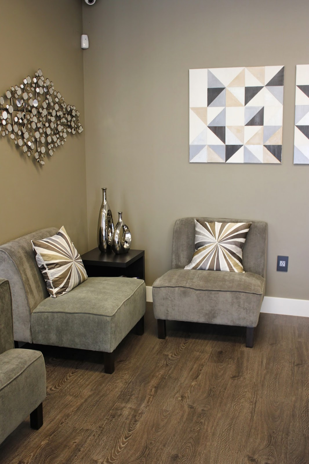 The Comfortable Waiting Area With Eternity Laminate Flooring