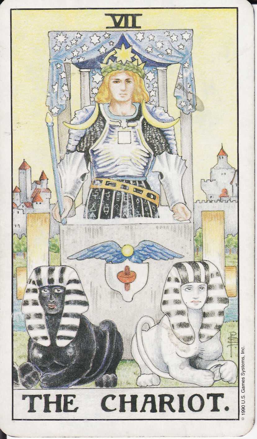 The senior lasso of the Tarot Chariot: meaning. Tarot, Chariot: interpretation in the layouts 24