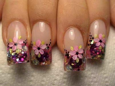 Uñas de gel: Fotos de diseños de uñas decoradas (Foto