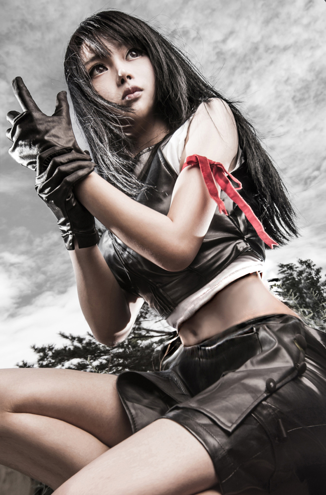 Favori Final Fantasy Cosplay: This is not Real Final Fantasy VII Advent  UI44