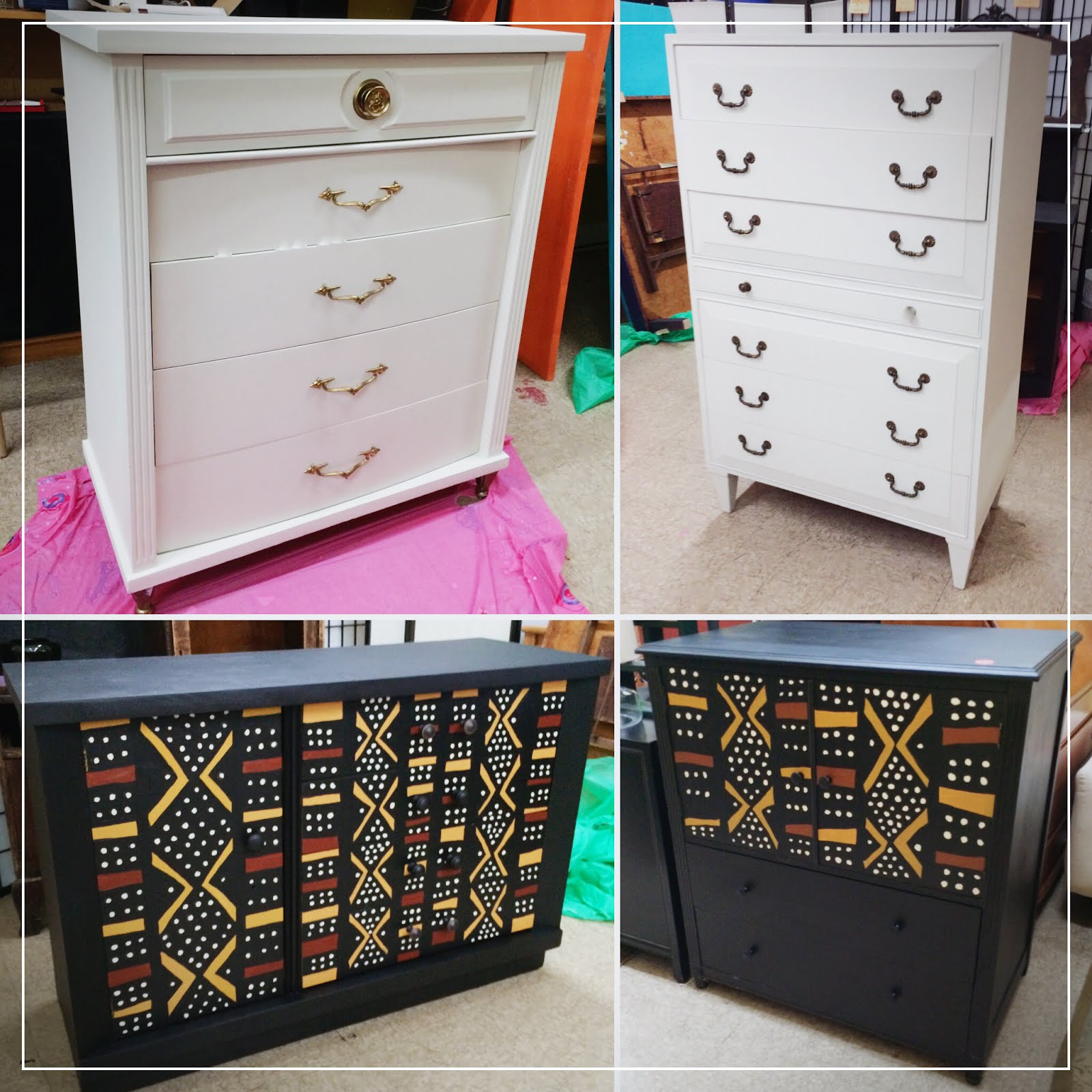 Painted By Uhuru Furniture!