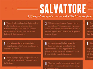 Salvattore - A jQuery Masonry alternative plugin with CSS-driven configuration
