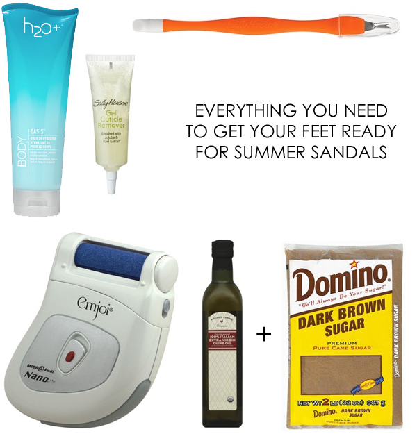 diy pedicure essentials